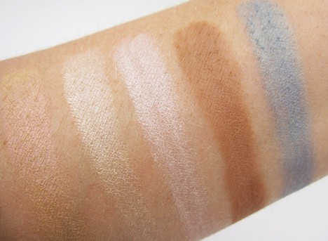 tarteAquapalette7 Aqualillies for tarte palette   swatches and review