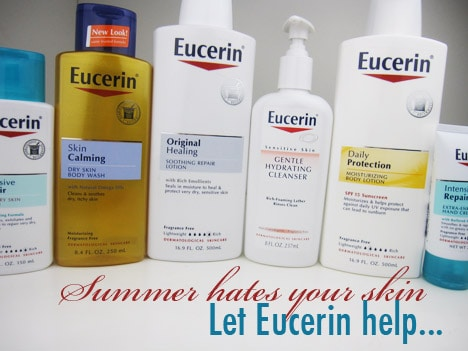 Eucerin 0713A Eucerin Helps You Beat the Heat with Tips For Healthy Summer Skin