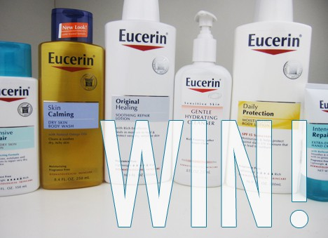 EucerinGiveaway0713 Giveaway: Eucerin Summer Skin Care and a $100 Visa Gift Card!