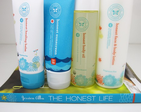 HonestCo1 The Honest Company   Body Product Review