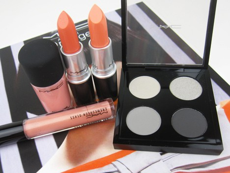 MACorange1 MAC All About Orange   swatches and review