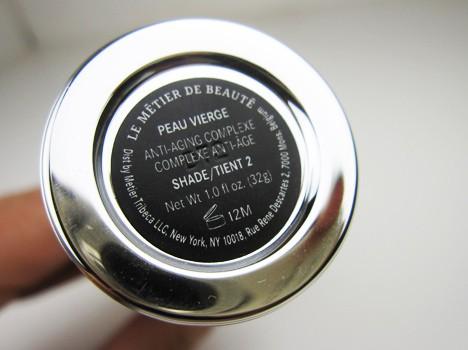 lmdbPeauVierge3 Le Metier de Beaute Peau Vierge Anti Aging Complexe Tinted Treatment   review