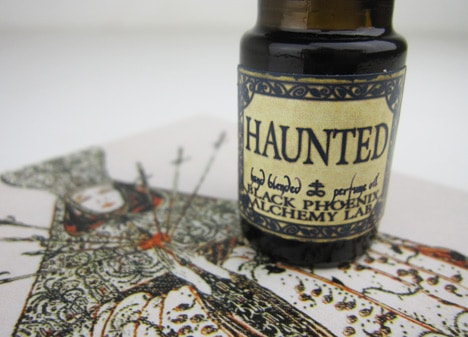 BPALamber2 BPAL Haunted oil and Amber & Patchouli Hair Gloss   review