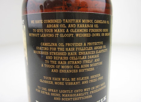 BPALamber6 BPAL Haunted oil and Amber & Patchouli Hair Gloss   review