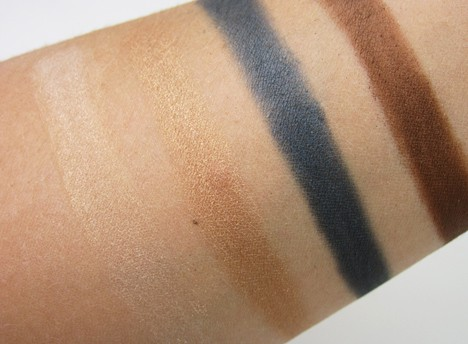 Benefit the Rich is Back eyeshadow swatches