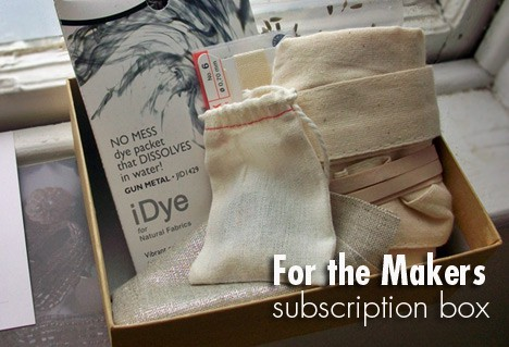 ForTheMakers1 For the Makers subscription box review