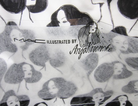 Mac Illustrated makeup bag