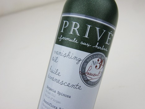 Prive2 Prive Vanishing Oil   review and photos