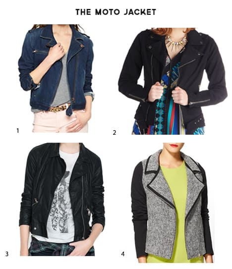 The Moto Jacket: Not Just for Tough Girls