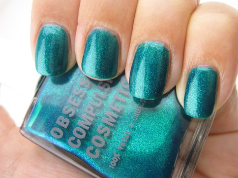 OCC man by man nail lacquer swatches