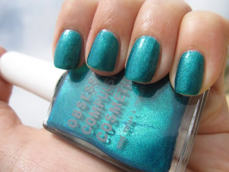 OCC man by man nail lacquer swatch