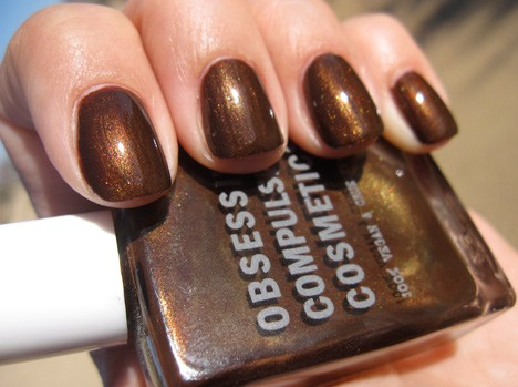 Obsessive Compulsive Cosmetics Isherwood nail lacquer swatch