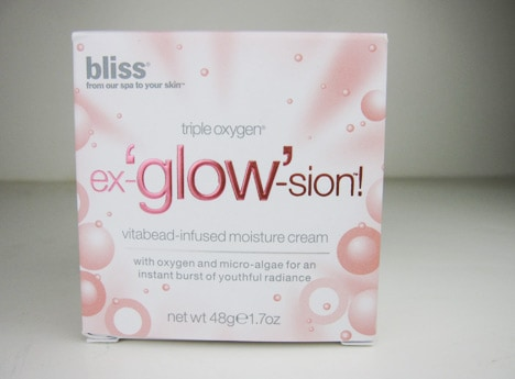 BlissGlow2 Bliss Triple Oxygen Ex glow sion Vitabead Infused Moisture Cream   review