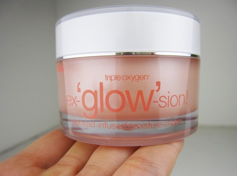 BlissGlow3 Bliss Triple Oxygen Ex glow sion Vitabead Infused Moisture Cream   review