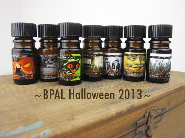 BpalHalloween2013A BPAL Halloween 2013   A review of 24 Halloweenies