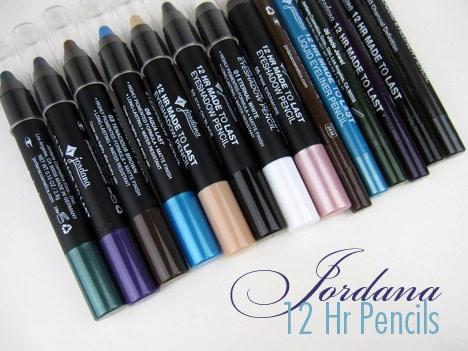 Jordana1 Jordana Cosmetics 12HR Made to Last Liquid Eyeliner and Eyeshadow Pencils Review
