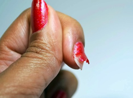 NailPatternBoldness1007E Nail Pattern Boldness Glitter Food and Glitter A Peel review