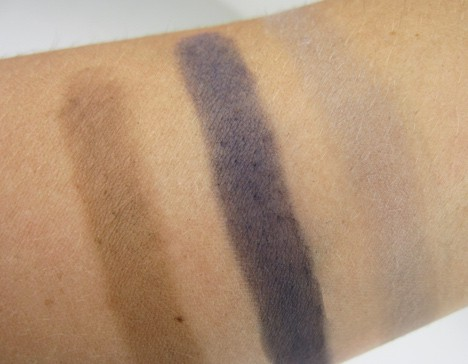 Nars eye shadow swatches