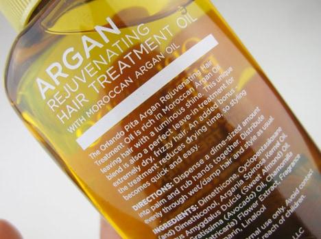 Orlando Pita Argan Haircare Review