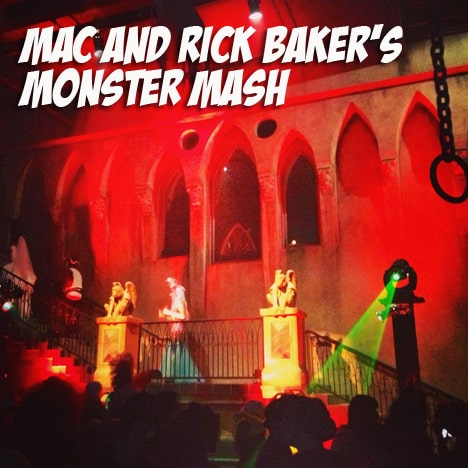 RickBaker5 MAC Rick Baker collection swatches and photos from the Monster Mash (aka the best Halloween bash EVER!)