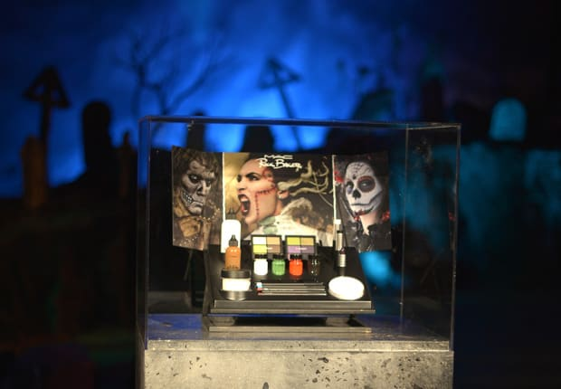 RickBaker featuredimage MAC Rick Baker collection swatches and photos from the Monster Mash (aka the best Halloween bash EVER!)