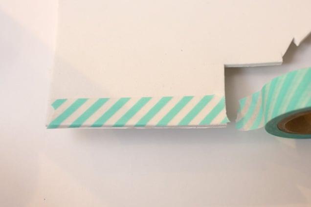 diy washi tape barrettes