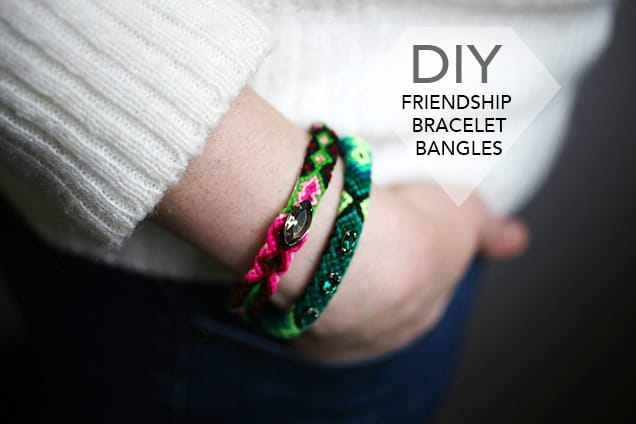 1.diyfriendshipbangles introphoto DIY Jewelry:  Friendship Bangle Bracelets