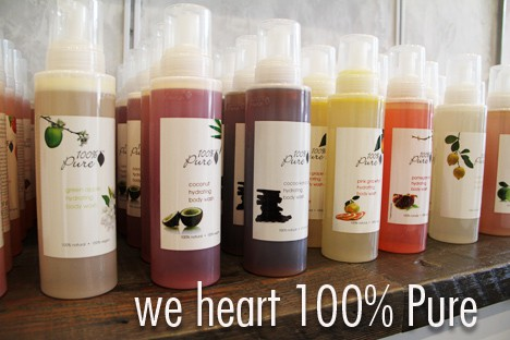100 Percent Pure Store 1 100% Pure in West Hollywood: we heart this Field Trip