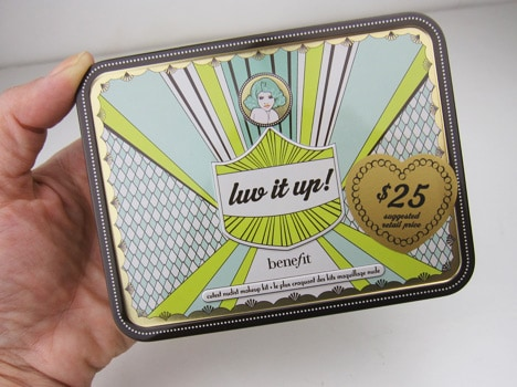 Benefit Luv It Up 3 Benefit Cosmetics Luv It Up and Groovy Kind a Love Palettes   swatches and review