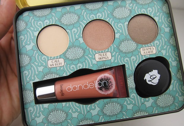 Benefit Luv It Up feature Benefit Cosmetics Luv It Up and Groovy Kind a Love Palettes   swatches and review