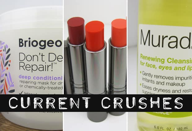 Current Crushes Jan 2014 Current Crushes: MAC Huggable Lipcolour, Murad Cleansing Oil and Briogeo Deep Conditioning Mask