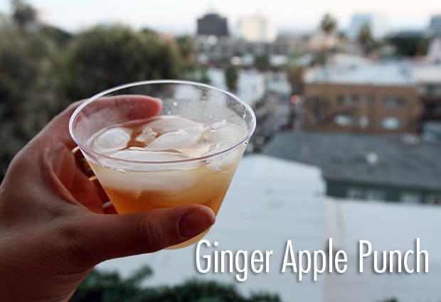 Ginger Apple Punch Recipe