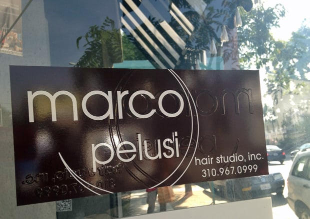 Marco Pelusi Hair Studio Robertson Marco Pelusi Hair Studio and Hair Care Products   Photos and Review