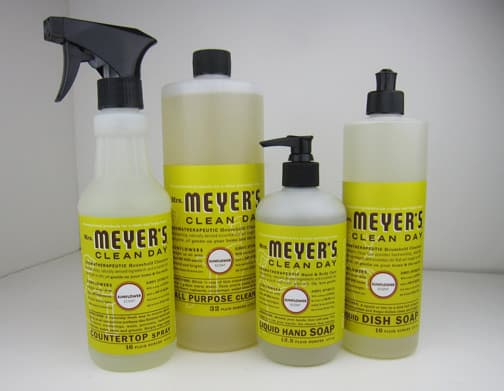 Mrs Meyers Sunflower 3 Mrs. Meyers Sunflower Products Review