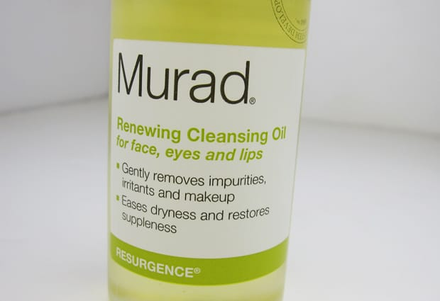 Murad Cleansing Oil Current Crushes: MAC Huggable Lipcolour, Murad Cleansing Oil and Briogeo Deep Conditioning Mask