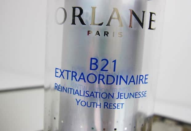Orlane B21 D Orlane B21 Extraordinare Youth Reset   Photos and Review