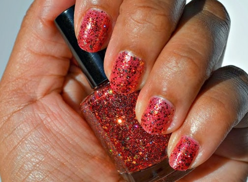 Shimmer Polish Rochelle 1 Shimmer Polish: Katherine, Rochelle and Mary   swatches and review