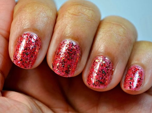 Shimmer Polish Rochelle 2 Shimmer Polish: Katherine, Rochelle and Mary   swatches and review