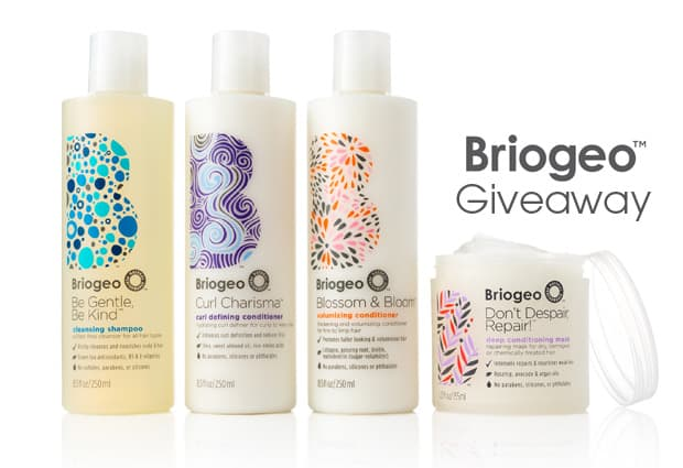 Briogeo giveaway GIVEAWAY: 3 Briogeo Products worth $68 (a current crush of we heart this!)
