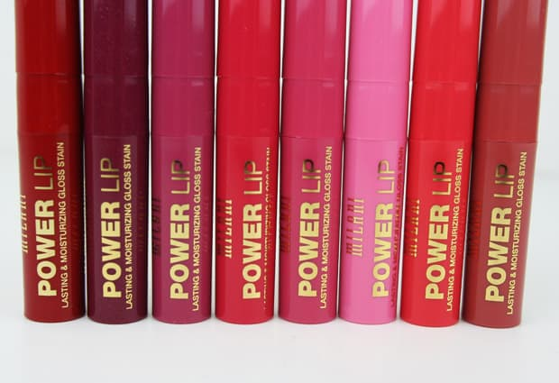 Milani Power Lip 1 Milani Power Lip   Swatches and Review