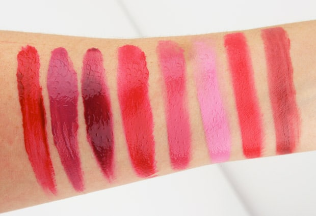 Milani Power Lip 6 Milani Power Lip   Swatches and Review