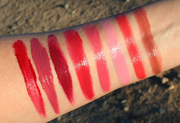 Milani Power Lip 7 Milani Power Lip   Swatches and Review