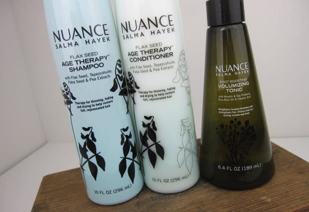 Nuance Salma Hayek Hair Care – Photos and Review