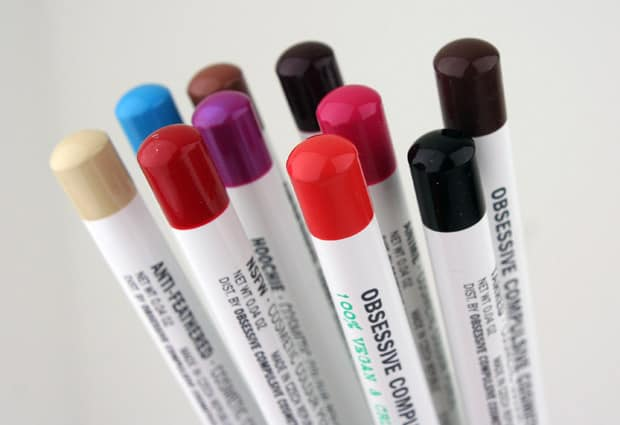 OCC pencils 1 OCC Cosmetic Colour Pencils   swatches & review