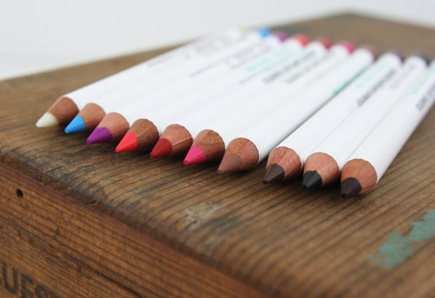 OCC pencils 2 OCC Cosmetic Colour Pencils   swatches & review