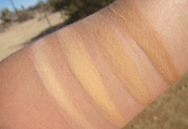 Senna Lasting Illusion foundation 5 Senna Lasting Illusion Foundation   Swatches and Review