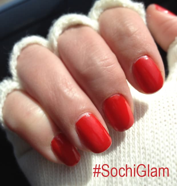 Sochi Glam Olympic Beauty: Sochi Glam with COVERGIRL, Pantene and Olay