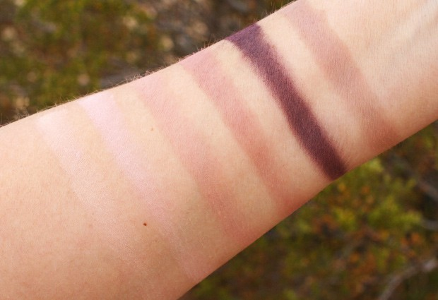 tarte be Mattenificent palette 8 tarte Be MATTEnificent Eye & Cheek Palette   Swatches and Review