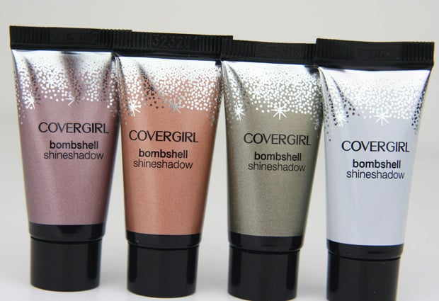 Covergirl Bombshell shineshadow 5 COVERGIRL Bombshell Shineshadow   Swatches and Review