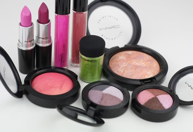 MAC Fantasy Flowers 1 MAC A Fantasy Of Flowers   swatches and review